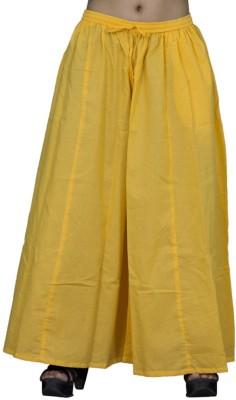 Chhipaprints Regular Fit Women's Yellow Trousers
