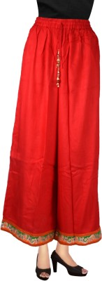 Decot Paradise Regular Fit Women's Red Trousers