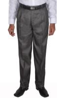 Maharaja Regular Fit Mens Grey Trousers
