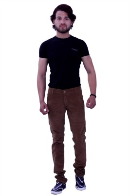 New Valley Regular Fit Men's Brown Trousers
