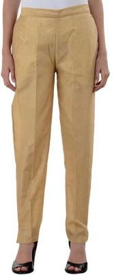 A A Store Regular Fit Women's Beige Trousers
