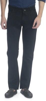Carolus Regular Fit Men's Black Trousers