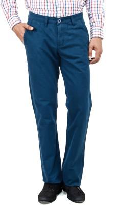 Uber Urban Regular Fit Men's Blue Trousers