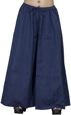 Chhipaprints Regular Fit Women's Blue Trousers