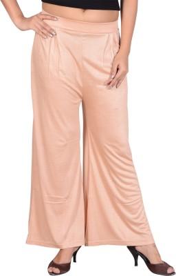 Sweekash Regular Fit Women's Beige Trousers