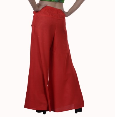 Inblue Fashions Regular Fit Women,s Orange Trousers