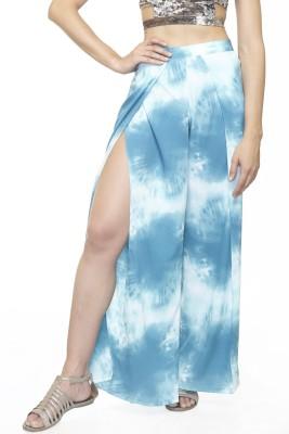 Divaat Regular Fit Women's Blue Trousers