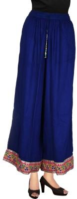 Decot Paradise Regular Fit Women's Blue Trousers