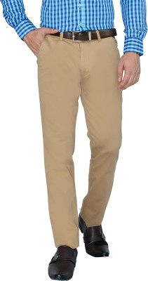 FN Jeans Regular Fit Men's Beige Trousers