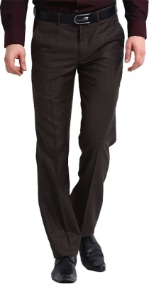 Marco USA Regular Fit Men's Brown Trousers
