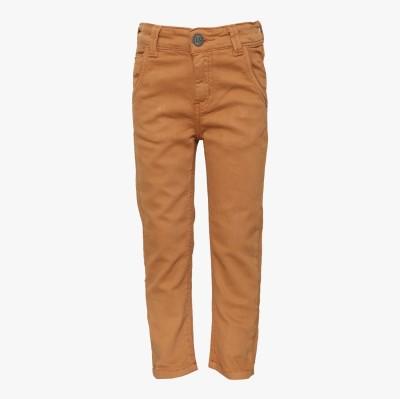 Tales & Stories Regular Fit Boy's Denim Beige Trousers