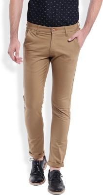 Bandit Slim Fit Men,s Brown Trousers