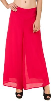 RoseBella Regular Fit Women's Pink Trousers