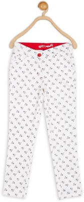 612 League Regular Fit Girls White Trousers
