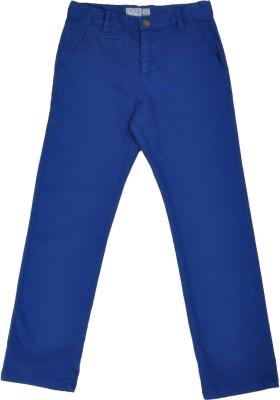 NOQNOQ Regular Fit Boy's Blue Trousers