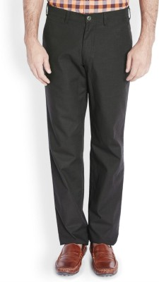 ColorPlus Slim Fit Men's Brown Trousers