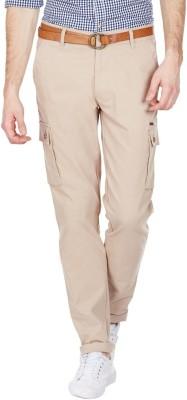 American Swan Slim Fit Men's Brown Trousers