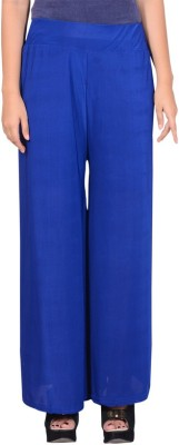 capy Regular Fit Women's Blue Trousers