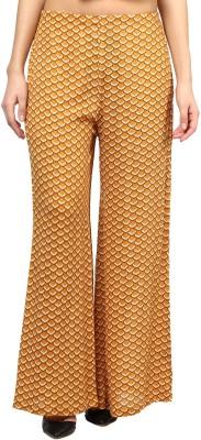 Taurus Regular Fit Women's Yellow Trousers