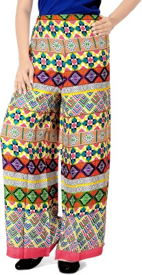 Khushali Regular Fit Women's Pink, Multicolor Trousers