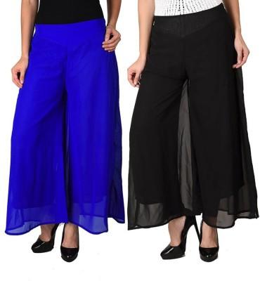 Hardys Regular Fit Women's Multicolor Trousers