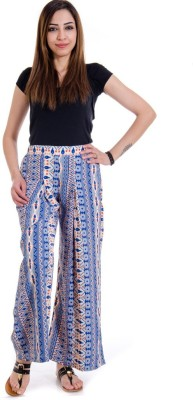 Fille Divin Regular Fit Women's Multicolor Trousers