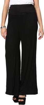 Sakhi Sang Regular Fit Women's Black Trousers