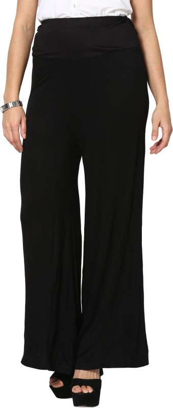 Sakhi Sang Regular Fit Women's Black Trousers