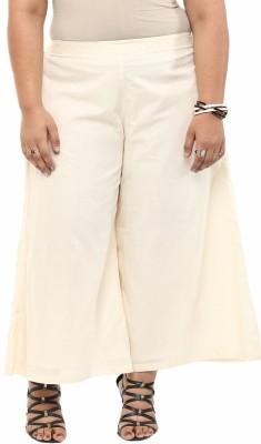 kira plus Regular Fit Women's Beige Trousers