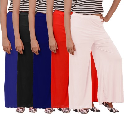 Ace Regular Fit Women's Red, Red, Blue, White, Dark Blue Trousers