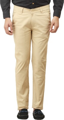 Histeria Slim Fit Men's Beige Trousers
