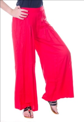 Fille Divin Regular Fit Women's Pink Trousers