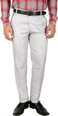 Larwa Regular Fit Men's White Trousers