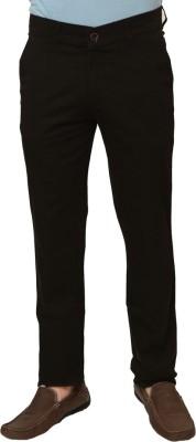Klix Regular Fit Mens Brown Trousers