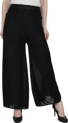 Broadstar Regular Fit Womens Black Trousers