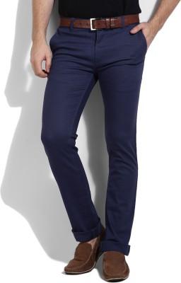 Pepe Jeans Regular Fit Men's Blue Trousers
