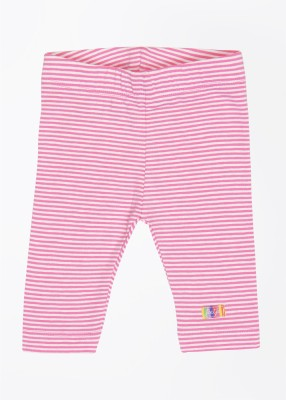 Feetje Baby Girl's Pink, White Trousers