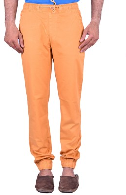 Cortos Regular Fit Men's Orange Trousers