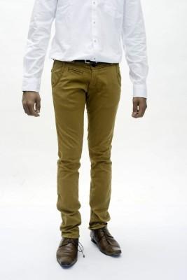 True Faith Men's Brown Trousers
