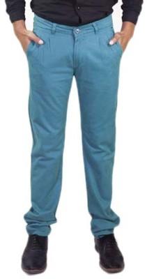 Rollister Slim Fit Men's Green Trousers