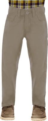 Uber Urban Regular Fit Boys Beige Trousers