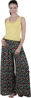 Vixenwrap Regular Fit Women's Black Trousers