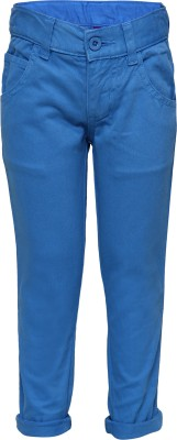 Tickles By Inmark Regular Fit Boy's Blue Trousers