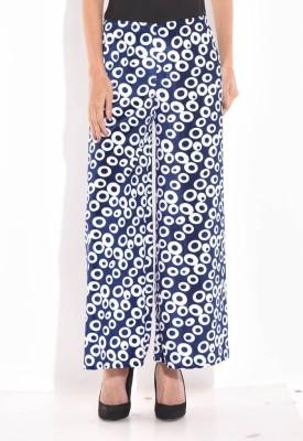 Sohniye Regular Fit Women's Dark Blue Trousers