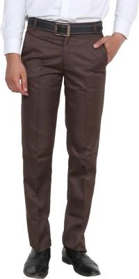 Rock Hudson Regular Fit Men's Brown Trousers