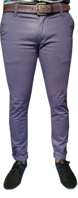 Oiin Slim Fit Men's Blue Trousers