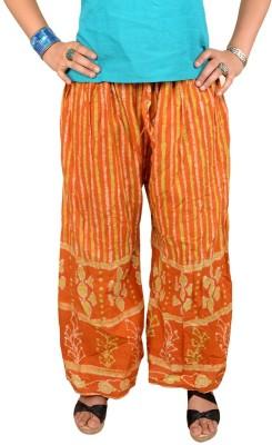 Shopatplaces Regular Fit Women's Yellow Trousers
