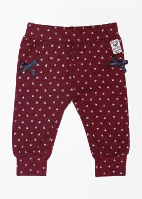 Feetje Baby Girl's Maroon Trousers