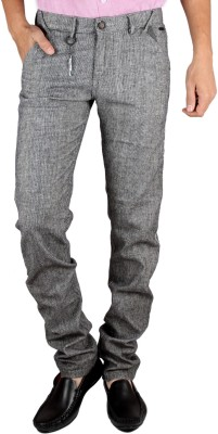 Coco Trend Slim Fit Men's Grey Trousers