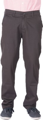 AUSSUM Regular Fit Men's Black Trousers